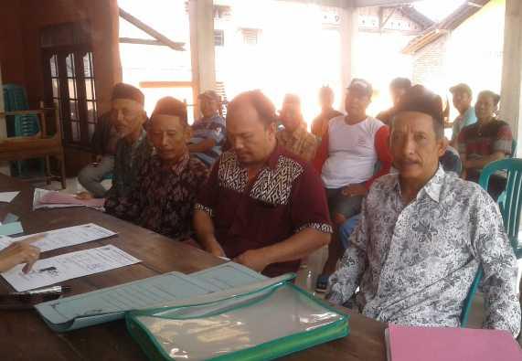 Muhlazim Resmi Daftar sebagai Bakal Calon Kepala Desa Sukodadi